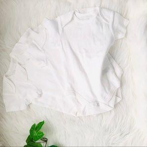 baby boy or girl onesies white NWOT